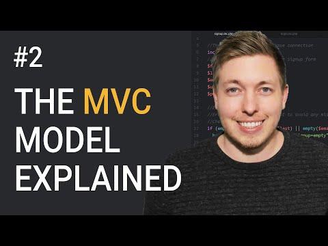 2: Simple Explanation Of The MVC Model | OOP PHP Tutorial | Learn OOP PHP