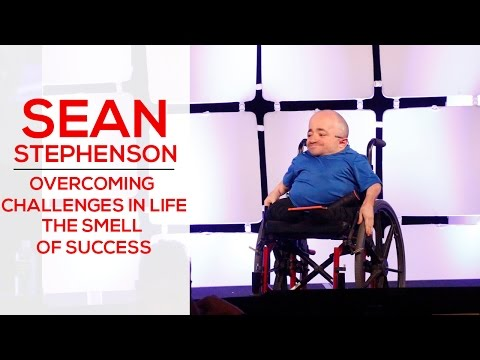 Genius Network: Overcoming Challenges in Life The Smell of Success with Dr. Sean Stephenson