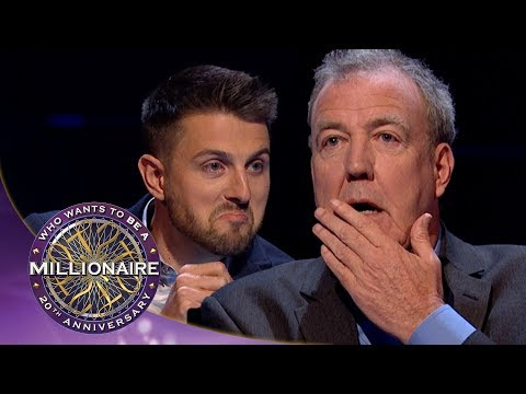Clarkson Doesn't Know The Answer To Ask The Host | Who Wants To Be A Millionaire?