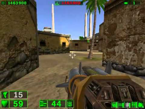 Serious Sam: The First Encounter Playthrough- Part 7-Suburbs