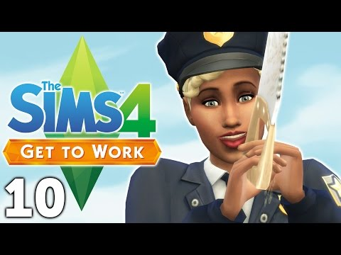 Let's Play The Sims 4 Get to Work - Part 10 - Transforming & Crafting!