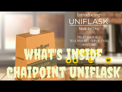 what's inside chai point uniflask