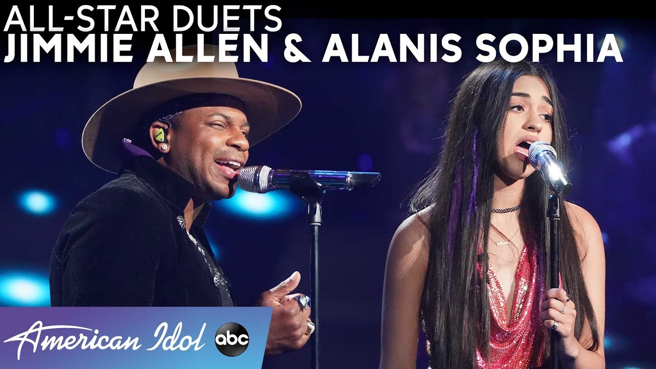 """A Star Is Born! Alanis Sophia's """"Alive"""" Solo + """"Shallow"""" Duet With Jimmie Allen - American Idol 2021"""