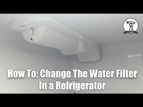 How To Replace LG Refrigerator Water Filter