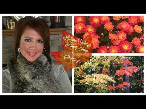 Autumn Foliage, Wedding Soup & Shopping   Karen's Vlog