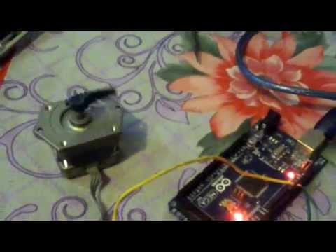 Running Stepper motor using arduino without any driver circuit.