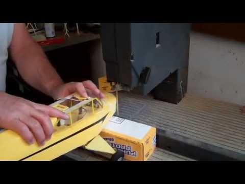 Jon's FlyZone SuperCub repair chronicles 10 size brushless motor