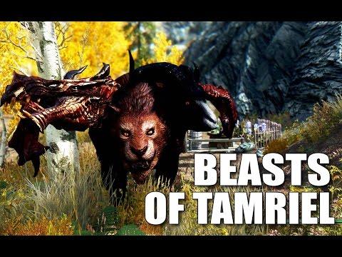 Skyrim Mods: BEASTS OF TAMRIEL