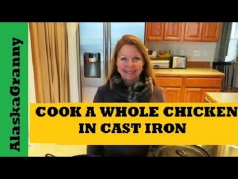 Grill a Whole Chicken in Cast Iron