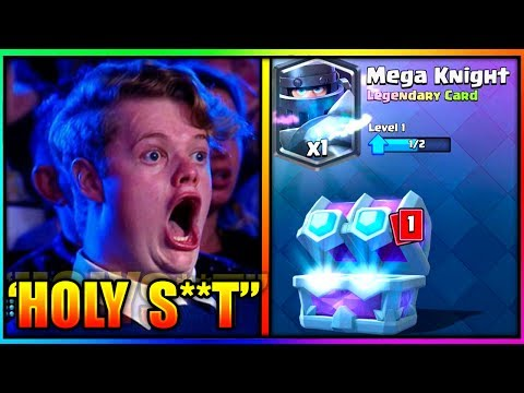 TOP 5 FUNNIEST AND INSANE KID REACTIONS TO GETTING A LEGENDARY CARD - CLASH ROYALE
