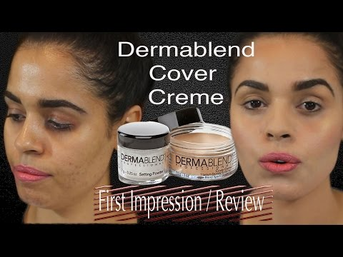 First Impressions / Review Dermablend Cover Creme plus Tattoo cover up |chit chat|