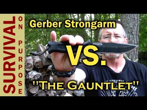 Gerber Strongarm vs Prodigy - A Gauntlet Knife Review