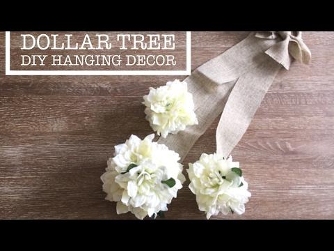 DIY Floral Decor | DIY Wreath| DIY Farmhouse decor| Wedding Pew Ideas