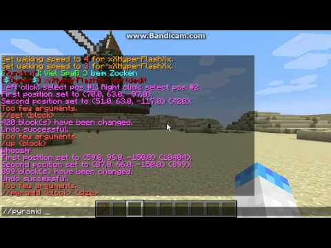 Minecraft Bukkit Plugin: WorldEdit