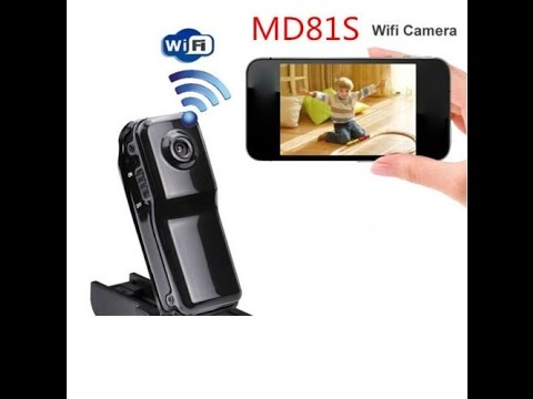 The MD81S Wifi Spy Tiny Camera Setup Instructions And Review