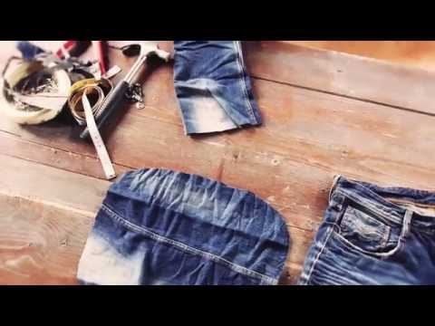 REPLAY: #1 How To Reuse Your Jeans #DENIMREUSED