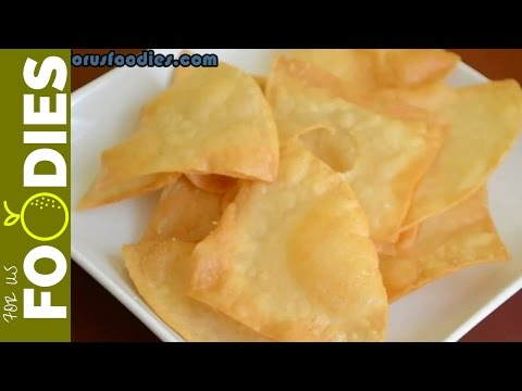 Homemade Tortilla Chips - VERY EASY!
