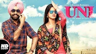 Harman Ramana : UNI (The Study Of Love) || Official Video || New Punjabi Songs 2017