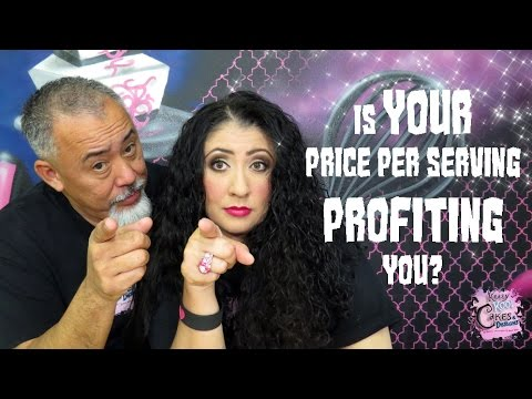 PROFIT FROM YOUR CAKES! Is YOUR Price Per Serving Profiting You? Cake Biz Video Series