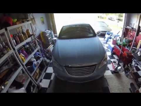 Chrysler 200 install battery, add ground wire, no start no crank fix