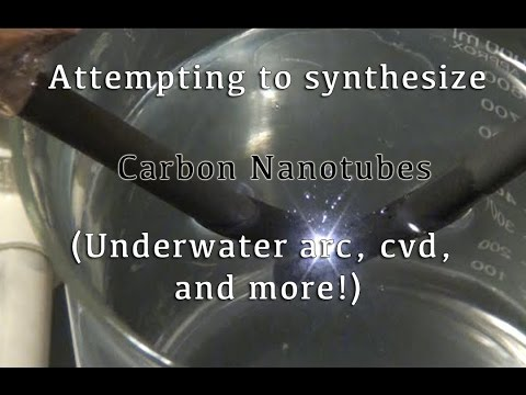 Carbon nanotube synthesis experiments