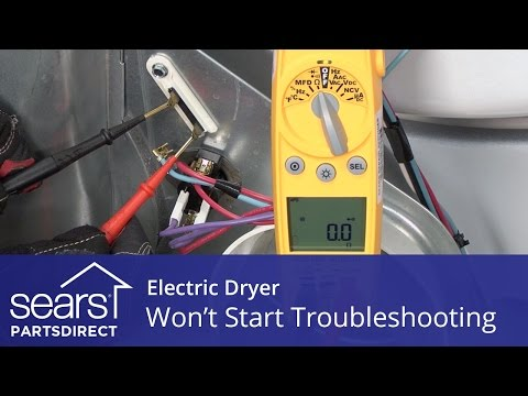 Dryer Won't Start: Troubleshooting Electric Dryer Problems