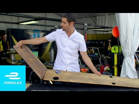 Why Is There Wood In A Race Car? - Formula E