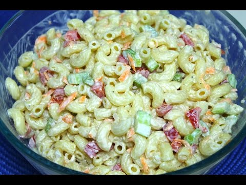 Macaroni Salad Recipe - in the Kitchen With Jonny Episode 95