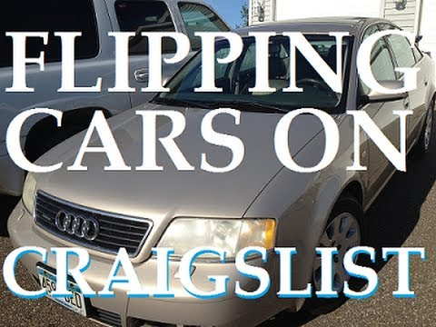 Flipping Cars on Craigslist | 01 Audi A6 Quattro (rust repair and paint)