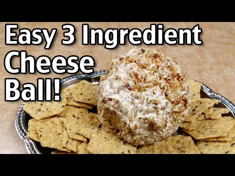 3 Ingredient Cheese Ball Recipe