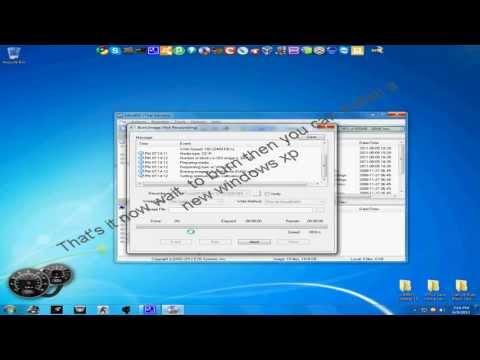 Windows Xp How To Burn Bootable CD/DVD