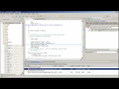 Static Analysis Plug-in for Eclipse