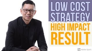 Low Cost Strategy High Impact Result  - Coach Hendra Hilman