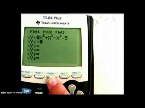 Graphing with x-intercept method