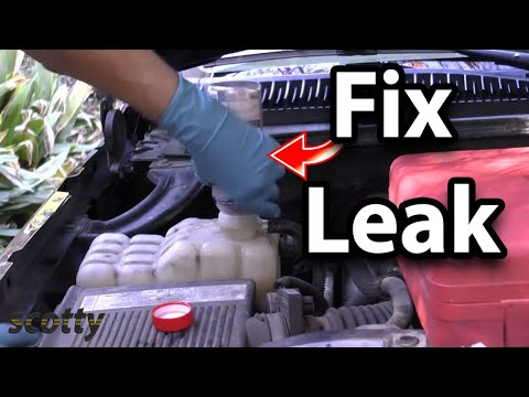 How to Fix a Leak in Your Car (Radiator)