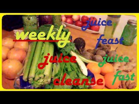 weekly juice feast, juice fast, juice cleanse, rawvegan lifestyle