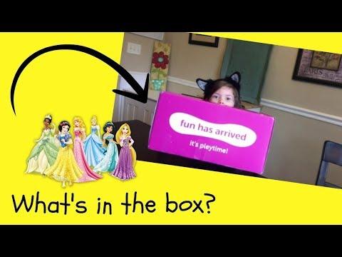 What's inside the box? Disney Princess Pley subscription box