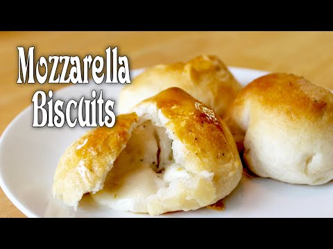 Mozzarella Biscuits ~ Cheese Bombs