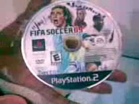 How to remove scratch from ps2 game disc! Worked for me.