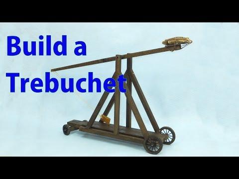 Building a Model Trebuchet  - woodworkweb