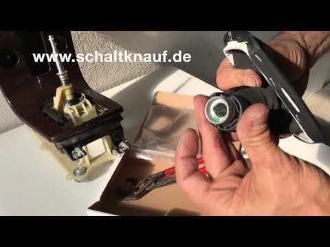 Volvo C30 S40 V50 schaltsack schaltknauf ausbau einbau gear knob remove change