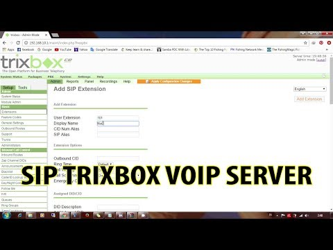 Installing and Configuring a FreePBX VoIP Server using TRIXBOX CE - Part 2
