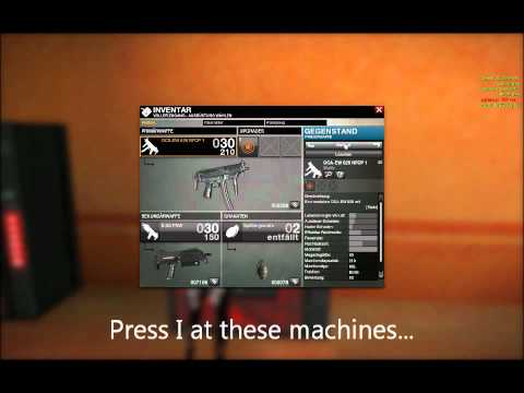 APB Reloaded GUIDE - Where can I change my equipment etc ?