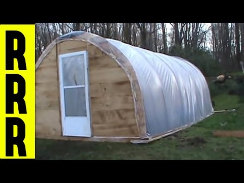 HOW TO MAKE A GREENHOUSE | HOMESTEADING GREEN HOUSE PLANS | Do It Yourself economy diy gardening
