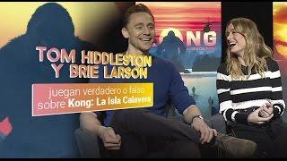 Download Tom Hiddleston y Brie Larson juegan verdad o falso de Kong: La Isla Calavera Video