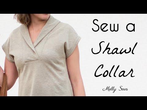 Sora Sewalong - Learn to Sew a Shawl Collar
