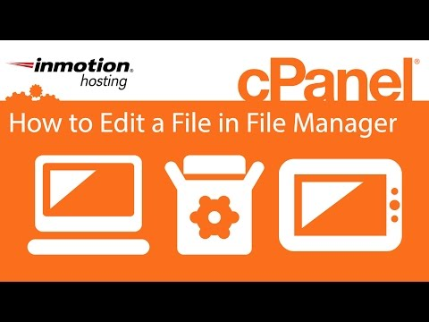 cPanel: How to Edit a File in File Manager