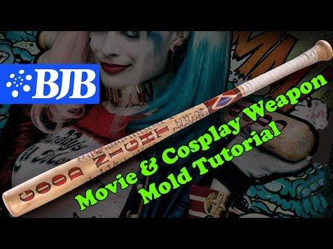 Cosplay & Movie Foam Weapon Tutorial - Silicone Mold and Foam Part