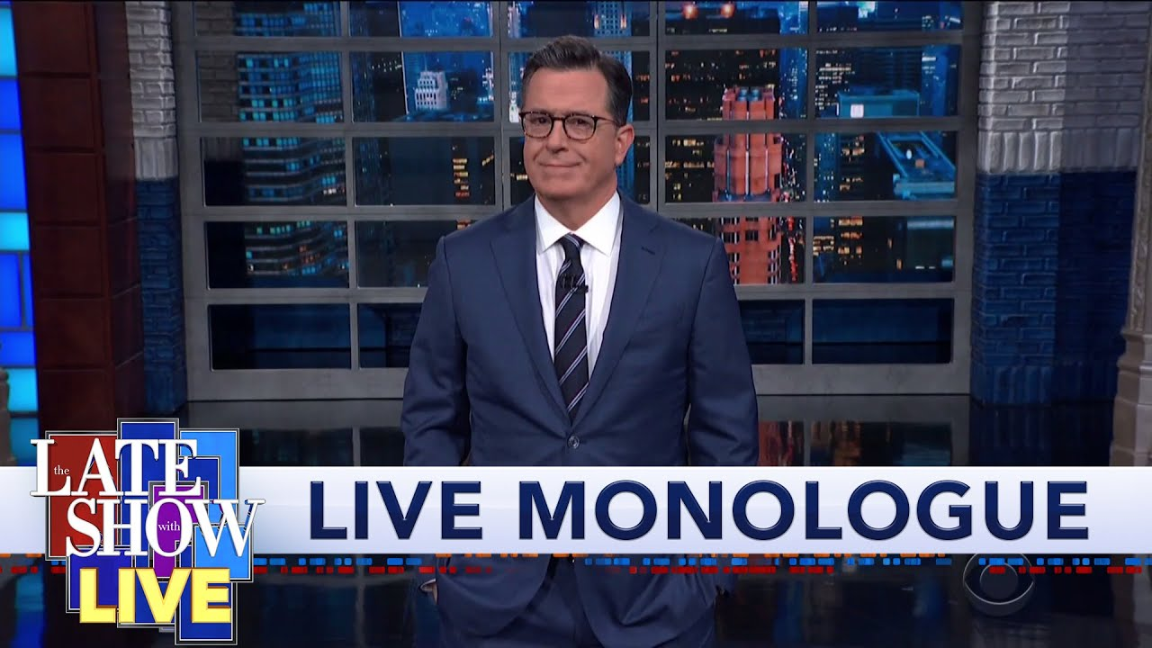 Stephen Colbert's LIVE Post-Debate Monologue: Fury Road To The White House 2020