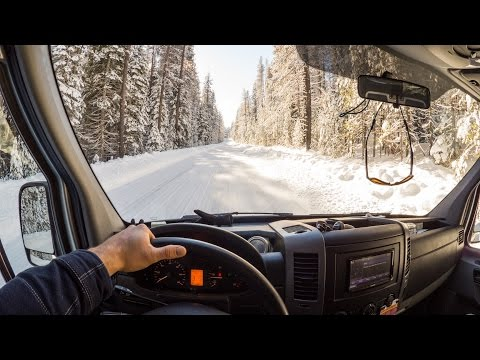 WINTER SPRINTER VAN: Helpful Tips For Driving A 2WD Sprinter Van On Snow And Ice